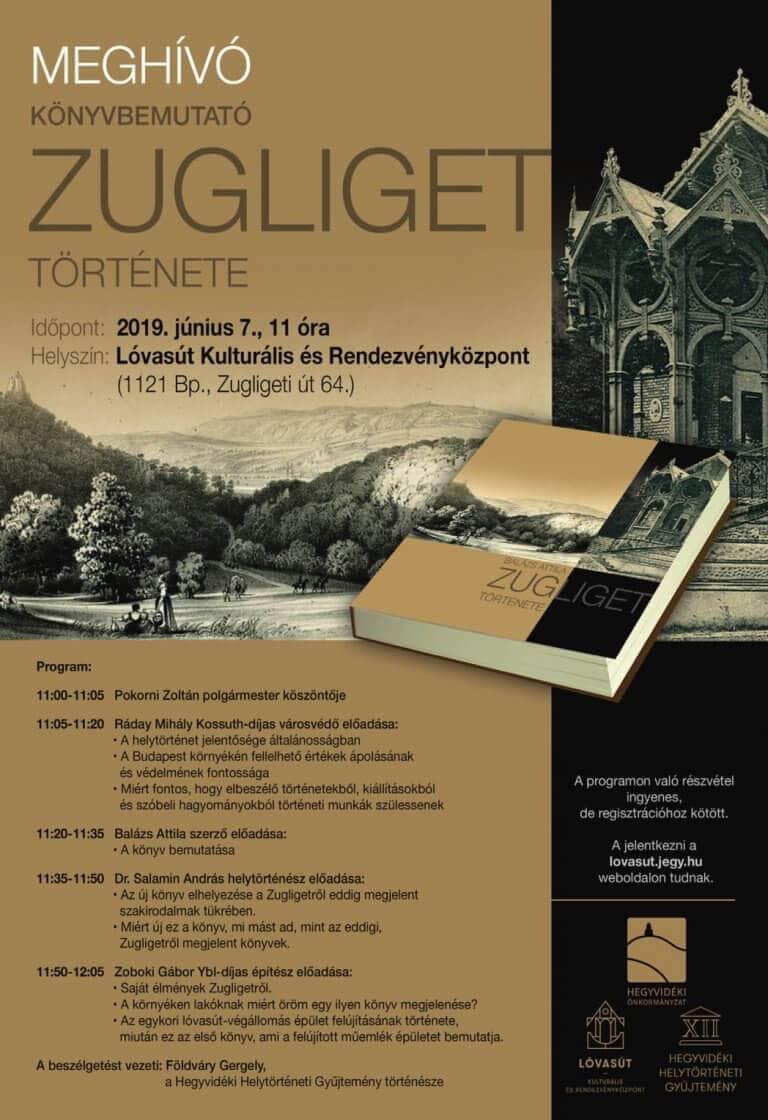 Zugliget Története – Könyvbemutató