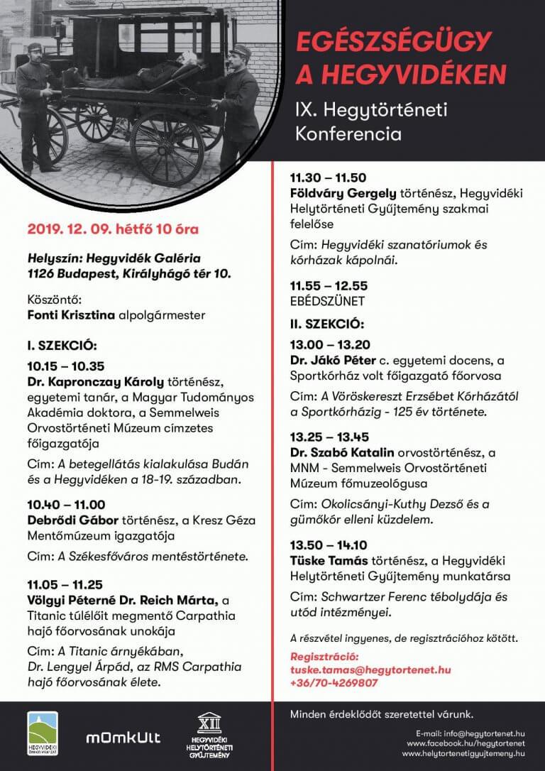 IX. Hegytörténeti Konferencia